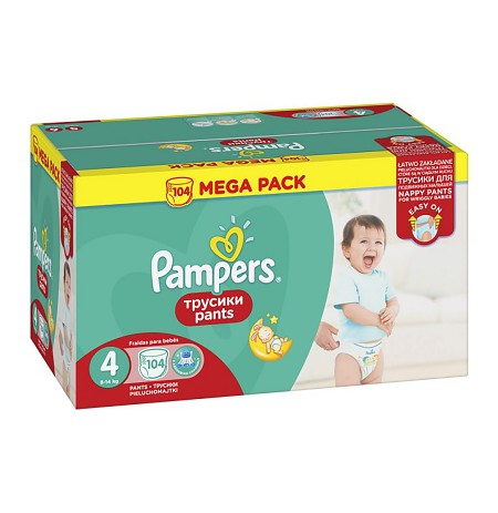 Pampers Pants Mega Pack