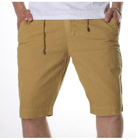 Pantallona per Meshkuj me Lidhese Mustarde