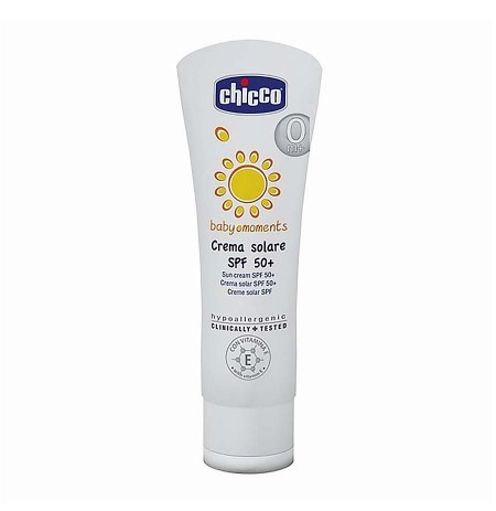 Chicco Krem Dielli 75ml SPF 50+ Baby Moment 0m+
