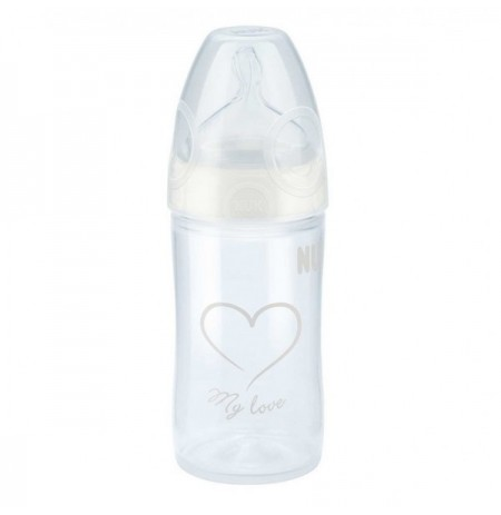Nuk Shishe Plastike My Love me Biberon Silikoni 150 ml 0-6m