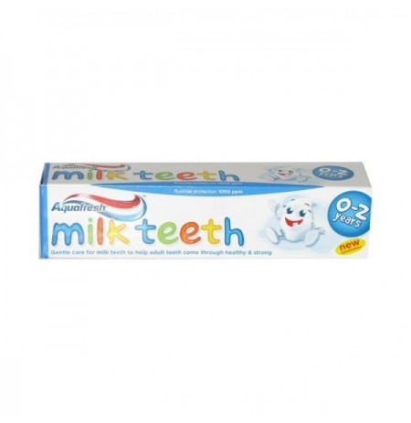 Paste Dhembesh Aquafresh 0-2 vjec, 50 ml Milk Teeth