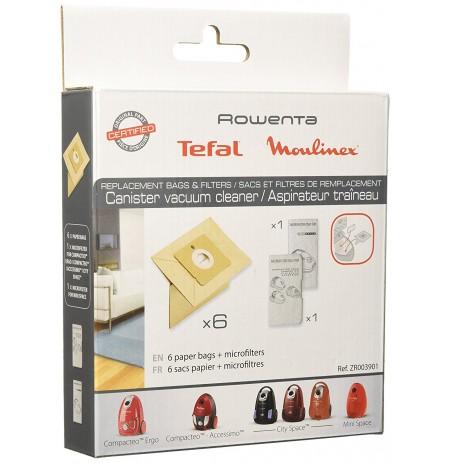 Kuti Qese Fshese Rowenta + Filter ZR003901
