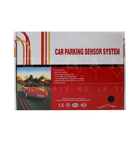 Sensore Parkimi LED, LCD, Display 4 cope