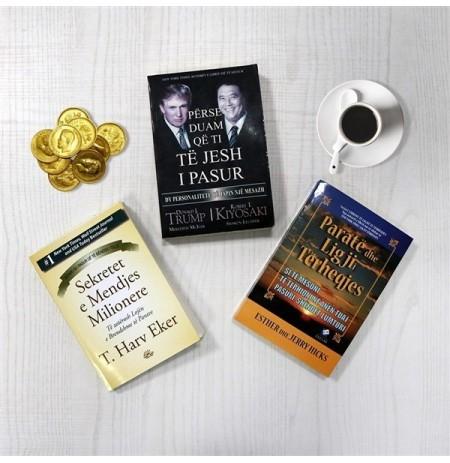 Mendja që të çon te paraja, - Set 3 libra