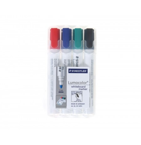 Set 4 Marker Whiteboard Staedtler