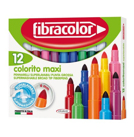 Lapustila Colorito Maxi 12 Fibracolor