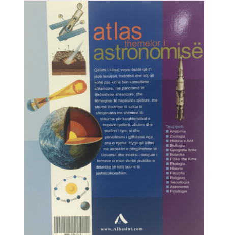 Atlas themelor i astronomisë