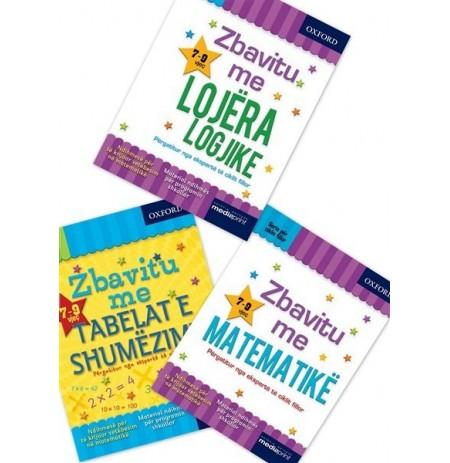 Set me 3 libra, - Mëso fëmijën tuaj në Matematikë dhe logjikë me librat e Oksfordit