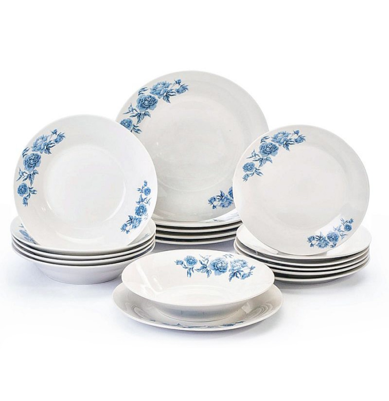 Set Pjatash Porcelani 18 Cope MH004