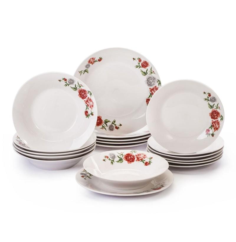 Set Pjatash Porcelani 18 Cope MH008