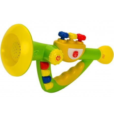 Globo Trombe me Bateri Muzike dhe Tinguj 25.5 Cm