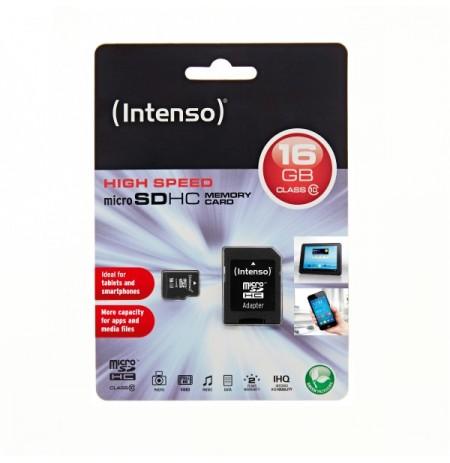 Karte Memorie Intenso Class 10 SDHC 16GB