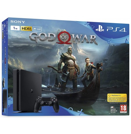 PS4 1TB + God of War 4