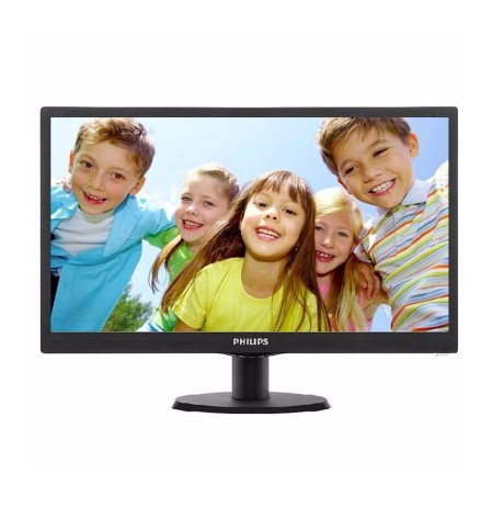 "Philips Monitor 19.5"" LED Wide"