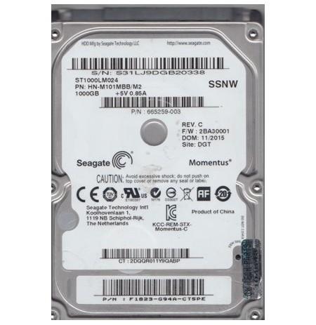 "SEAGATE HDD INT 2,5""1 TB SATA3 5400RPM"
