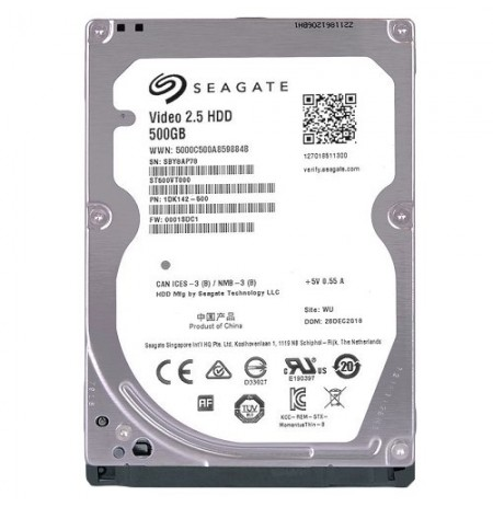 "SEAGATE HDD INT 2,5""500GB SATA3 5400RPM"