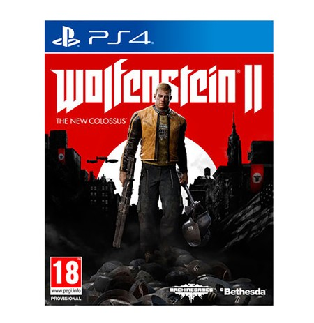 Loje Ps4 Wolfenstein 2 The New Colossus