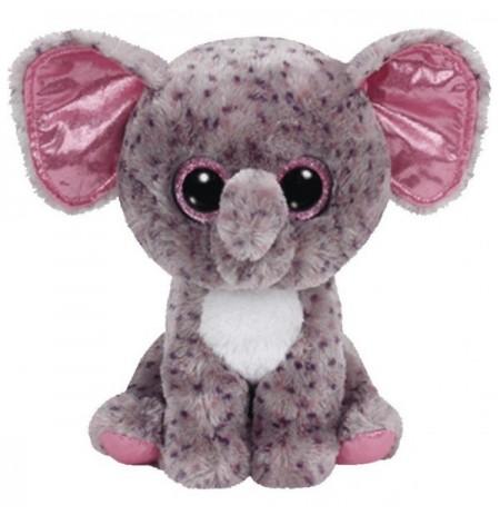 Plush Ty Beanie Boos Specks Grey Speckled Elephant 25Cm