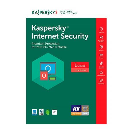 Kaspersky Internet Security MD 1Pc/y