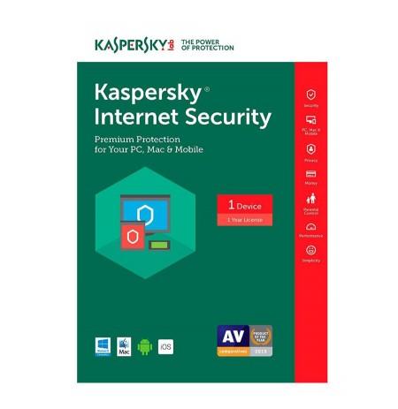 Kaspersky Internet Security MD RENEWAL 1 PC/1Y
