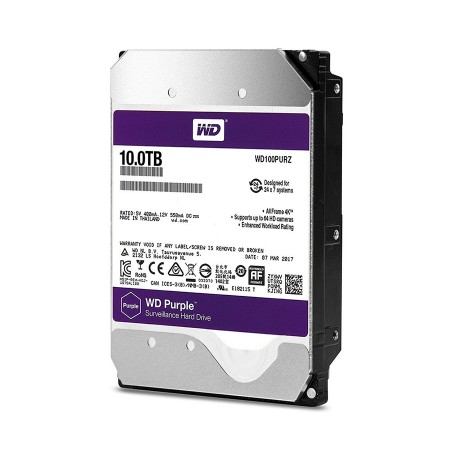HDD WD PURPLE  10 TB SATa III 256MB (D)
