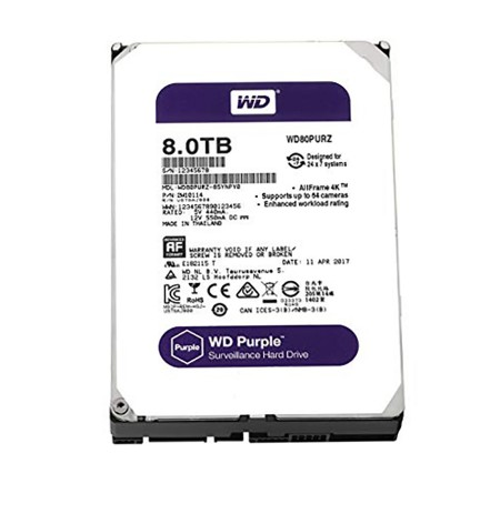 HDD WD PURPLE  8 TB SATA III 128MB
