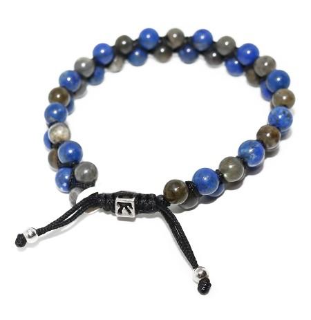 Byzylyk me Gur Labradorit dhe Lapsis Lazuli