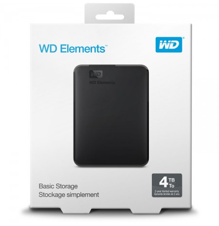 "WESTERN DIGITAL HDD EXT 2,5"" 4TB USB 3.0"