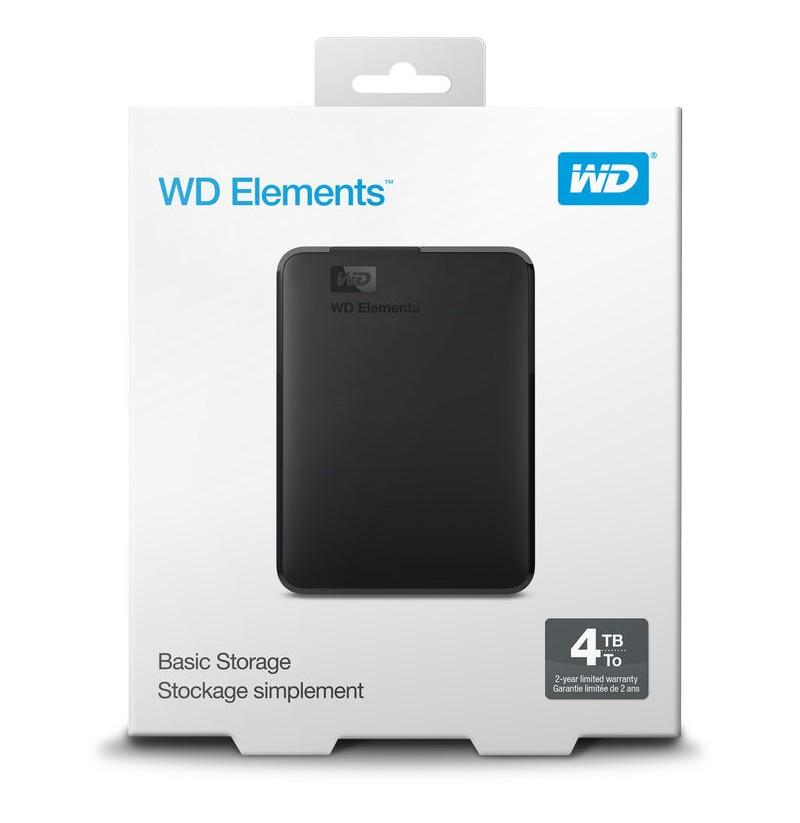 """WESTERN DIGITAL HDD EXT 2,5"""" 4TBUSB 3.0"""