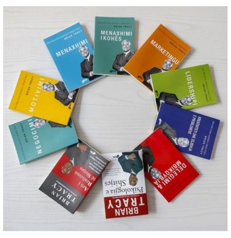 Set 10 libra - Suksesi në biznes me Brian Tracy