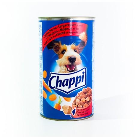 Ushqim per Qen me Mish& Karrote Chappi 1.2 Kg