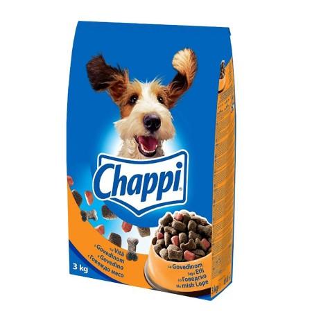 Ushqim per Qen me Mish Lope Chappi 3 Kg