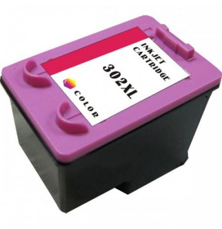 Kartuçë me Boje 302 XL HP Kompatibël Tre ngjyra