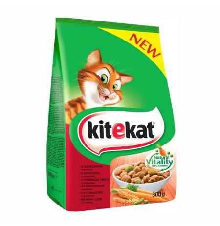 Ushqim per Mace me Mish Lope dhe Perime Kitekat 300 Gr