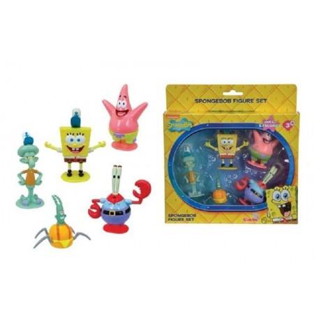 Set Spongebob Squarepants  Patrick Squidward Mr Krabs