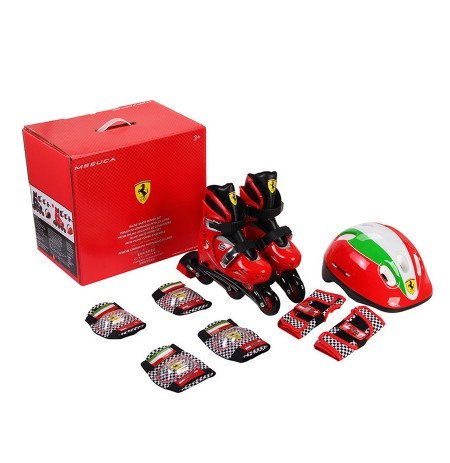 Chipolino Set Patina, Helmet, Mbrojtese Ferrari