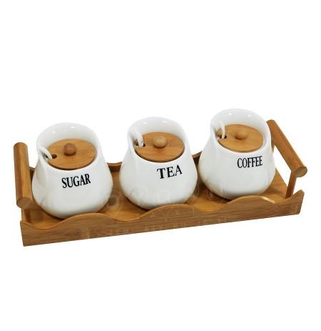 Mbajtese Kafeje, Sheqeri dhe Caji JA7177