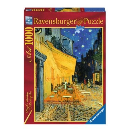 Puzzle Ravensburger Van Gogh Cafe At Night 1000Pcs