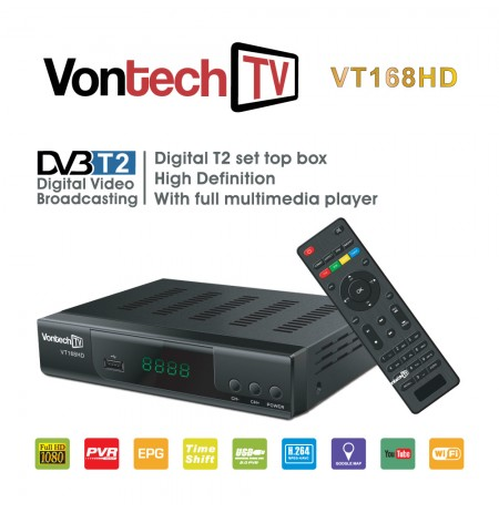 Dekoder DVB T2 + Youtube