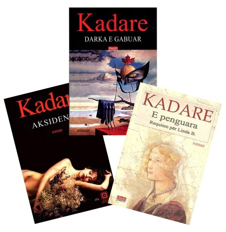 Romanet e fundit për të pasionuarit pas Kadaresë - set 3 libra