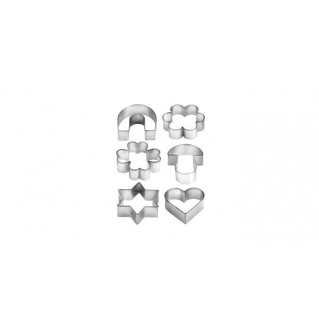 Forme Biskotash Metalike te Ndryshme 6 Cope