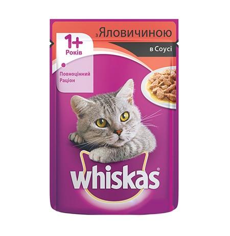 Ushqim per Mace me Mish Lope Whiskas 100 Gr