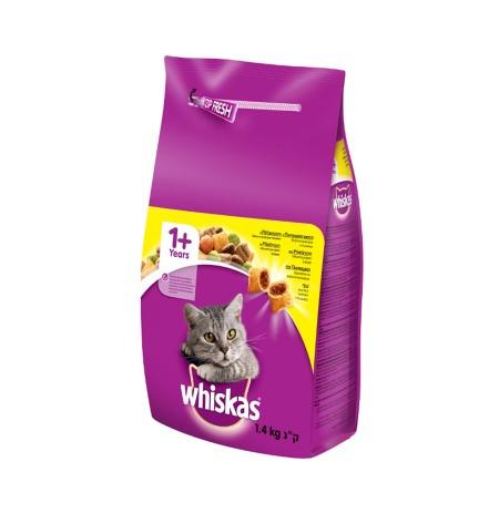 Ushqim per Mace me Ton Whiskas 1.4 Kg