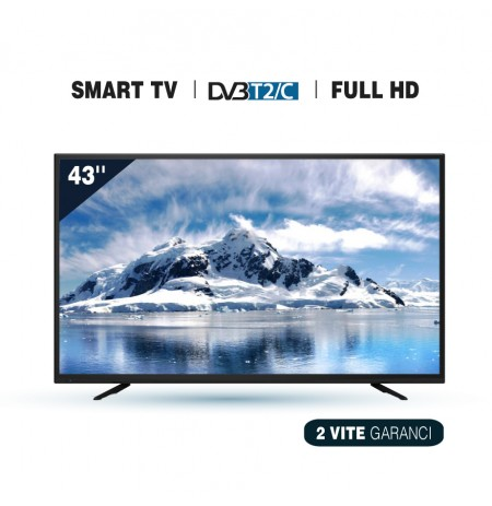 "Tv Elektra LED 43""  ET-43FHD18S-T2 Smart TV"