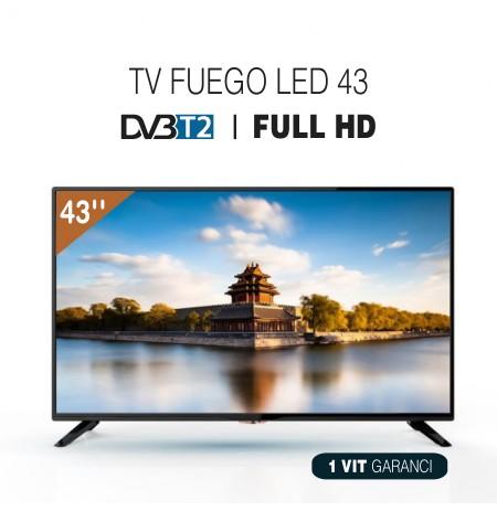 TV FUEGO LED 43 43EL600T