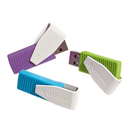 Verbatim Flash Drive Swivel 8GB USB 2.0 3 cope