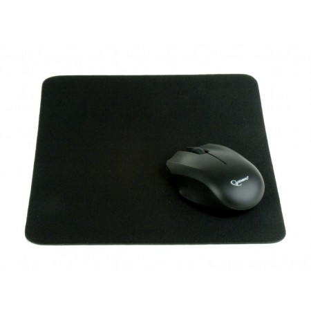 Gembird Mouse Pad Cloth Black 220x250mm