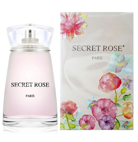 Secret Rose Paris Eau De Parfum per Femra