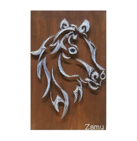 String Art Logo Kali