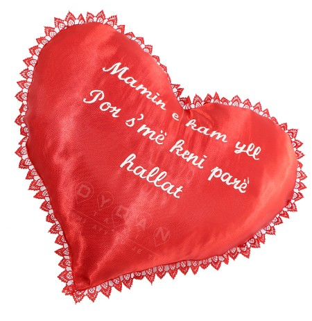 Jastek ne forme zemre I personalizuar